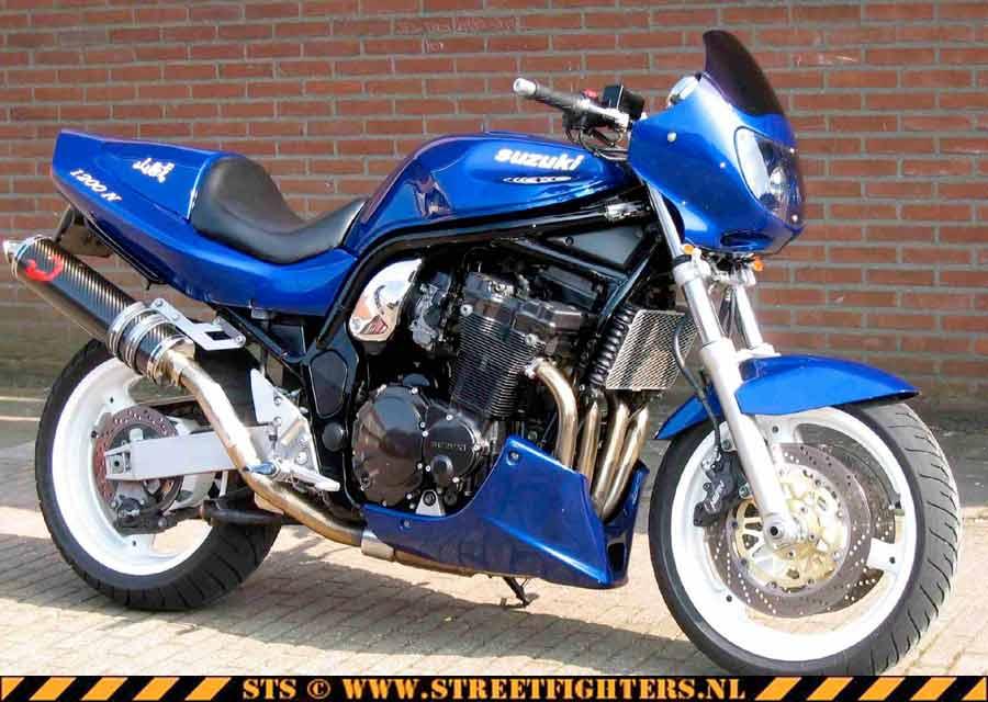 Suzuki Bandit Streetfighter Pictures